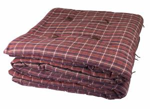 Plaid Matelassé 160x160 Check ROUGE