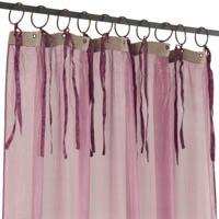 Sliky voile lilas