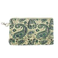 Trousse plate Indienne Indigo Cashemire