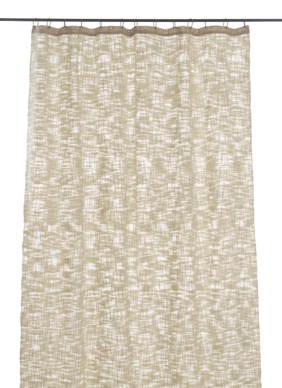 Rideau Nuage 130x280 en Coton - Beige