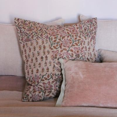 Aloes coussin 65x65 Beige