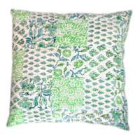 Aloes coussin 65X65 vert