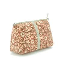 Trousse de toilette XL Indienne - Terracotta Soleil