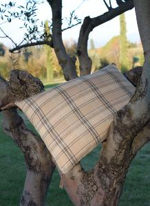 Coussin CHECK 30X45 BEIGE
