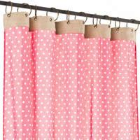 Pois Coton Voile Rose The