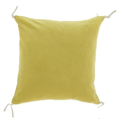 Coussin Vague 45x45 Citron