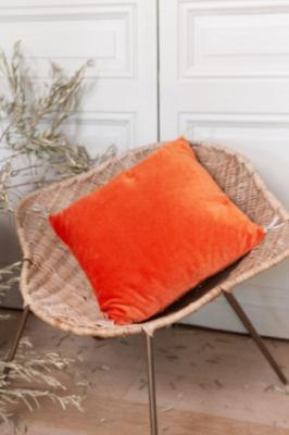 Coussin Vague 45x45 Orange