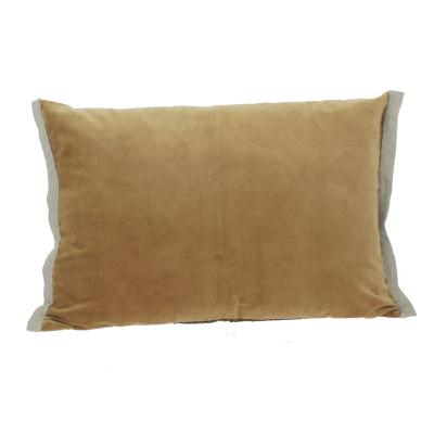 Coussin Domino 50x75 cm Tabac