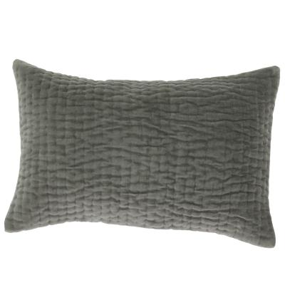 Coussin Vague 30x45 Anthracite