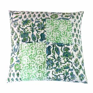 Aloes coussin 45x45 vert