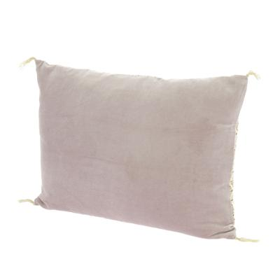 Coussin Domino 35x50 cm Lilas