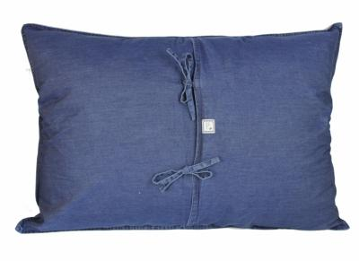 Denim grand coussin 50x75 jeans