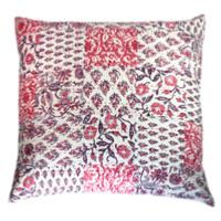 Aloes coussin 65x65 rose