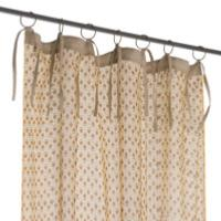 Voile Indienne Ocre Semis
