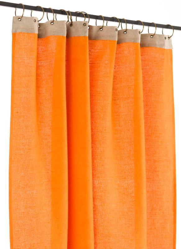 Rideaux Ombre Lumiere Orange