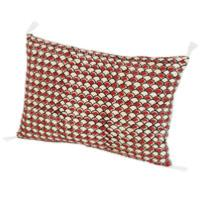 Coussin Indienne 30x45 cm Terracotta Ecaille