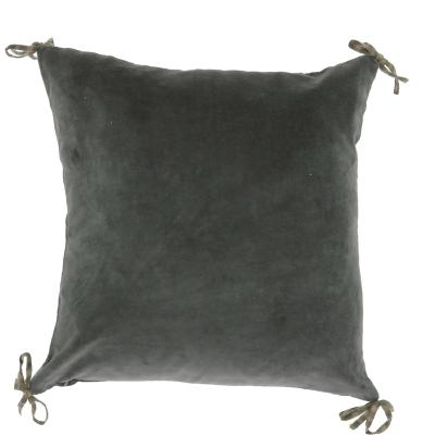 Coussin Vague 45x45 Anthracite