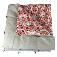 Duvet Fiori Lin Medaillon Orange