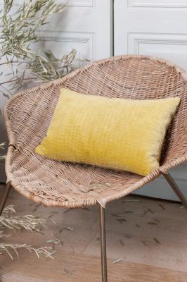 Coussin Vague 30x45 Citron